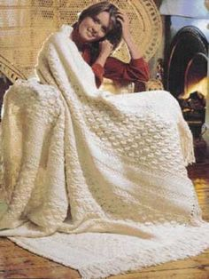knitted blanket pattern