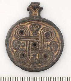 Viking age/ Pendant/ Uppland