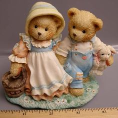 Everything Teddy Bear Catalog Pg 11a: Cherished Teddies Nursery Rhyme Indivual Pieces
