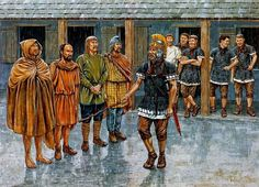 The recruitment and enlistment by the Romans of native auxiliary cavalryman by Adam Hook Ancient Rome, Ancient History, Imperial Legion, Imperial Army, Romulus And Remus, Roman Legion, Roman Soldiers, Roman History, Roman Empire