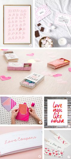 Oh the lovely things: 14 Valentine's Day DIY Projects and Free Printable...