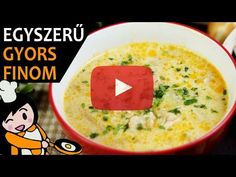 Palócleves - Recept Videók - YouTube Cheeseburger Chowder, Soup, Make It Yourself, Youtube, Meat, Potatoes, Easy Soup Recipes, Soups, Chowder