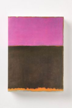 Collection of Mark Rothko's brilliant abstract color field paintings / & essays about the artist