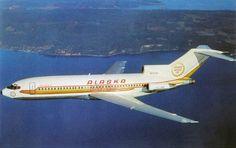 Vintage Planes Alaska Airlines Golden Nugget Jet Airplane Plane Old Postcard Fan Jet Vintage Boeing 727, Boeing Aircraft, Passenger Aircraft, Air Festival, Alaska Airlines, Aviation Industry, Commercial Aircraft, Aircraft Pictures, Old Postcards