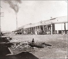 Henry Yesler's sawmill and commercial buildings at Front Street (now First Avenue) and James Street in the 1870s. The mill provided Seattle's first salaried jobs. Photo: Museum Of History And Industry / Museum of History and Industry