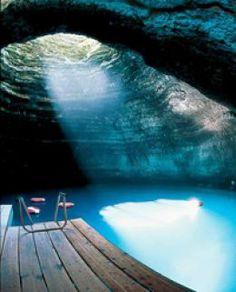 This looks incredible. Midway Hot Springs in Utah.