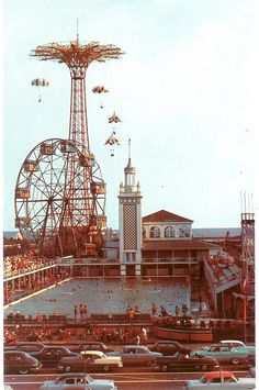 cooney island vintage | Vintage Coney Island postcard | Flickr - Photo Sharing!