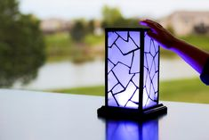 Wi-Fi Enabled Lamp Lets Your Love Shine Across Continents - http://www.psfk.com/2015/05/wi-fi-enabled-lamp-cool-lamps-filimin.html