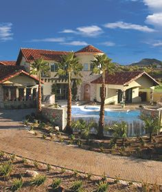 henderson , nv house - mediterranean - exterior - other metro - Paddle Creek Design