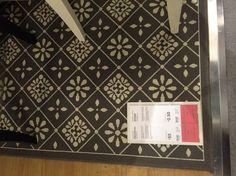 Rug, grey and white. Snekkersten 160x230 £55