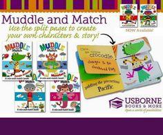 Usborne Muddle and match