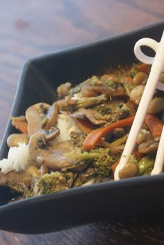 The Fat Free Queen: Wacky Workout Wednesday and Forgotten Stirfry