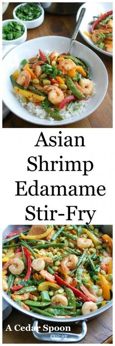 Asian Edamame Fried Rice | Favorite Recipes | Pinterest | Edamame ...