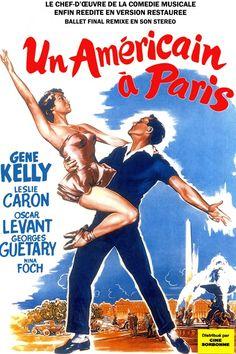 """""""Un américain à Paris"""", réalisé par Vicente Minneli (1952)"""