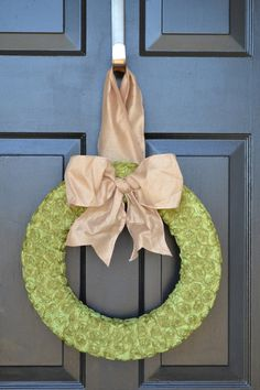 Green Rosette Wreath