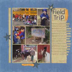 1st Field Trip - Scrapbook.com