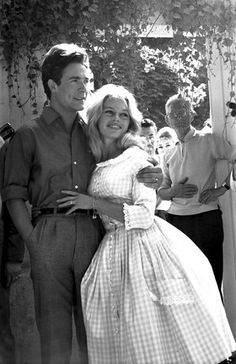 """Brigitte Bardot: Photographers burst into the registry office in which the marriage was to take place, reported the UPI, """"where they formally asked Brigitte for permission to photograph the ceremony. Brigitte's brown eyes blazed. She stamped her foot and shouted 'Non, non, non.' Then she buried her face in her hands and burst into sobs."""""""