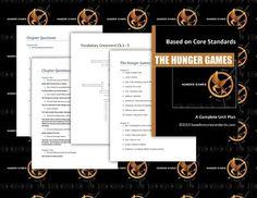 Hunger Games Lesson Plans - Unit Plan for Teaching The Hunger Games on TPT.