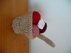 Tuto Coupe de Glace tricotée: cadeau de l'avent, plus que 17 à trouver ! - La cigale dans le pommier