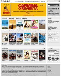 Sitio web y tienda online del distribuidor de cine de autor y documental Cameo www.cameo.es