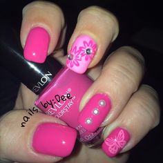 passionate pink by revlon nails!