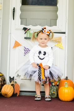 Ghost Halloween B Tutu Costume  FREE SHIPPING by LilasLaundry, $34.95