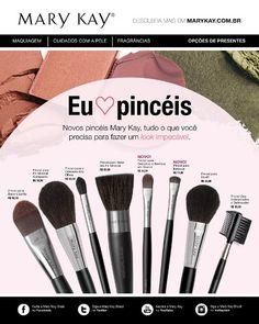 Usando pincéis! | Bruna Espósito