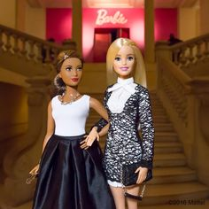 "Paris, je t'aime! Here to attend the opening of the new ""Barbie"" exhibit at the Musée des Arts Décoratifs (@lesartsdecoratifs), so many things to celebrate this week.  #barbie_AD #barbie #barbiestyle"