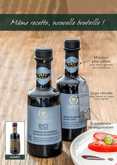 premium balsamic vinegar is an exceptional, full-bodied vinegar made according to the purest of traditions. Certified PGI (Protected Geographical Indication), and the 4-Leaf Grade System. 100% natural, without coloring, preservative or artificial flavors. Perfect on mesclun salads, steamed vegetables, grilled meats, as a glaze or marinade, and terrific on strawberries, vanilla ice cream or both together! Balsamic Vinegar Of Modena, Aged Balsamic Vinegar, Steamed Vegetables, Organic Fruit, Grilled Meat, Biologique, Vanilla Ice Cream, Macaron, Gourmet Recipes