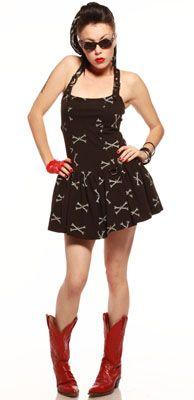 Dem Bones dress