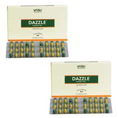 "2 x Dazzle Capsule (For Arthritic disorders) - - ""Expedited International Delivery by USPS / FedEx """