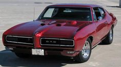 1968 Pontiac GTO (with the hideaway headlamps option).