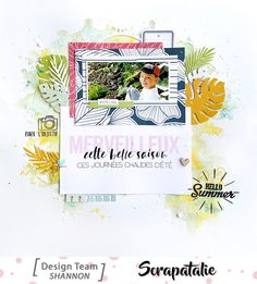 Project Life, Mini Albums, Version Scrap, Scrapbooking, Hello Summer, Diy, Projects, Crafts, Pattern Paper