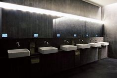 Modern interiors toilets