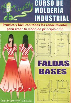 free sewing pattern - Mujeres y alfileres: Moleria industrial - Faldas base