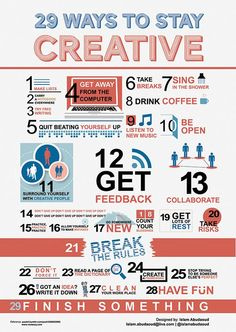 29 Ways to Stay Creative [Inforgraphic] Google Image Result for httpeditorial.designtaxi.comnewsinfo27021.jpg