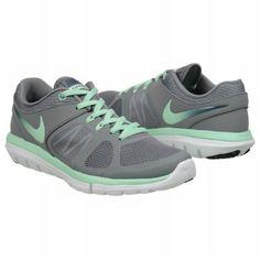 Athletics Nike Women's FLEX RUN 2014 Grey/Mint/Squadron B FamousFootwear.com