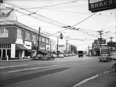The heart of Buckhead in October 1954. LBGPF8-055b, Lane Brothers Commercial Photographers Photographic Collection, 1920-1976. Photographic Collection, Special Collections and Archives, Georgia State University Library.