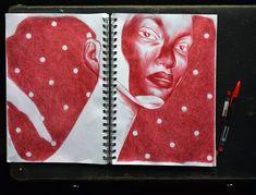 """430 tykkäystä, 13 kommenttia - Juha Korhonen (@junkohanhero) Instagramissa: """"Faces 01 by  #junkohanhero 2/7 2020  #sketches #ballpointpen #drawings #arte #artista #artes…"""""""