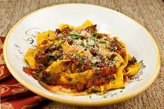 Slow Cooker Beef Short Rib Pasta Sauce