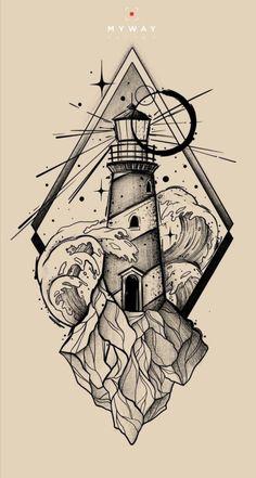 12 Tattoos, Ocean Tattoos, Unique Tattoos, Body Art Tattoos, Tattoos For Guys, Tattoo Design Drawings, Tattoo Sleeve Designs, Tattoo Sketches, Sleeve Tattoos