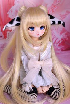 s*t*j (@tomo_stj) | Twitter Kawaii Doll, Kawaii Anime Girl, Kawaii Cute, Anime Art Girl, Anime Dolls, Blythe Dolls, Pretty Dolls, Beautiful Dolls, Monster High