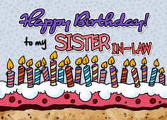 Happy Birthday to my sister-in-law (381874)