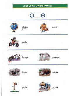 long o words | EnglishLab.Net: TESOL Printables & Worksheets