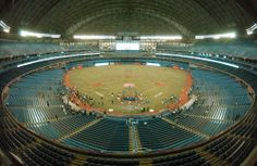 A general view of the Rogers Centre taken before the game between the Toronto Blue Jays and the Kansas City Royals during their game at the Rogers Centre on April 9, 2007 in Toronto.