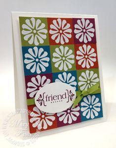 Card design w SU product like the sketch