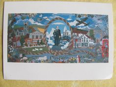 Postcard - .200 Year Anniversary of Sir John Franklin NW Passage.