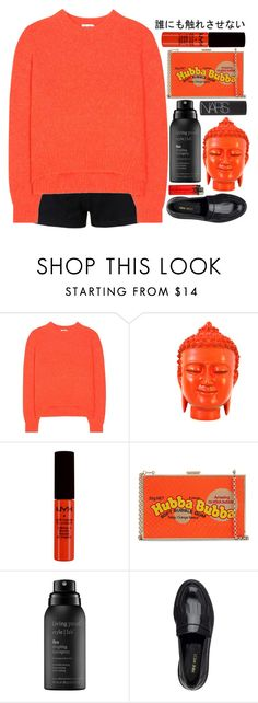 """► marnie"" by amxnduhh ❤ liked on Polyvore featuring Acne Studios, NYX, Anya Hindmarch, Living Proof, Nine West and NARS Cosmetics"