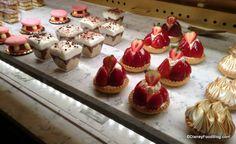 Cafe Leigeios in bakery case at Las Halles #DisneyFood #WDW