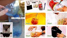 home Diy - perangkap nyamuk - step tutorial: http://bolejuga.com/membuat-sendiri-perangkap-nyamuk/